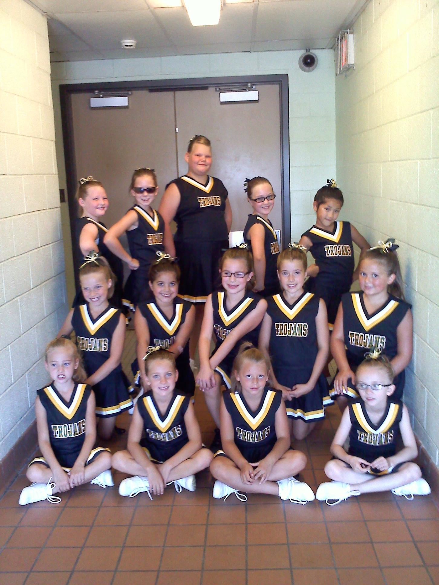2012 Mini Cheerleaders Alexander Tri Town Youth Athletics